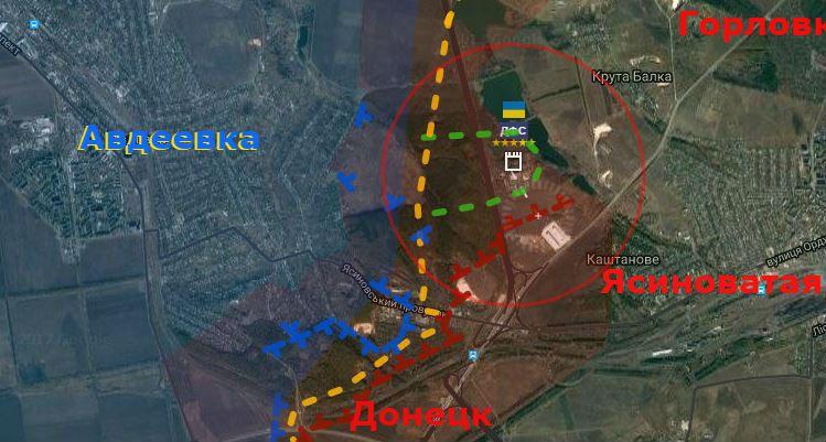 В окрестностях Авдеевки выявлены места повреждений линии электропередач, - пресс-центр штаба АТО - Цензор.НЕТ 5287