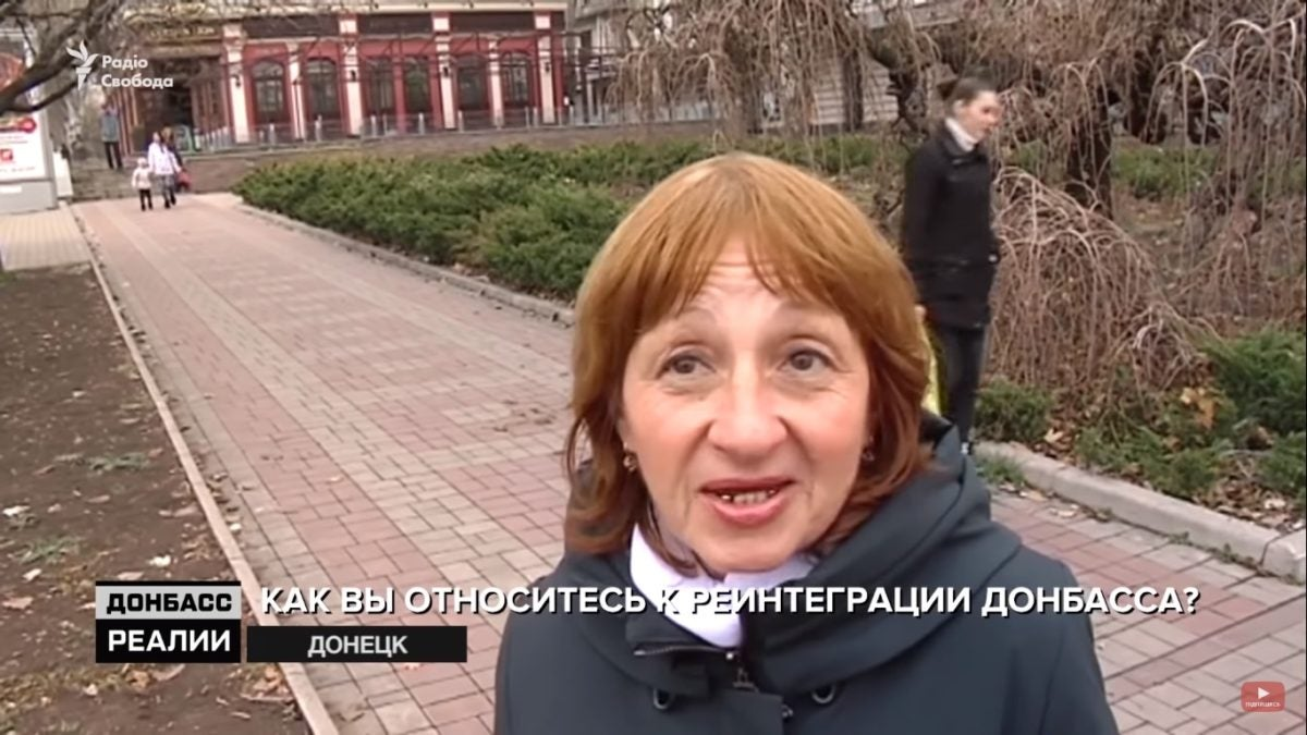 «Интегрироваться в Россию»: Жители Донбасса рассказали, чего хотят на самом деле
