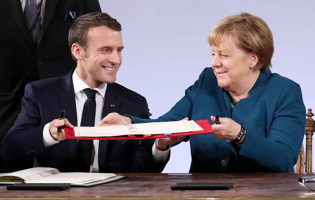 Макрон забирает Европу у Меркель