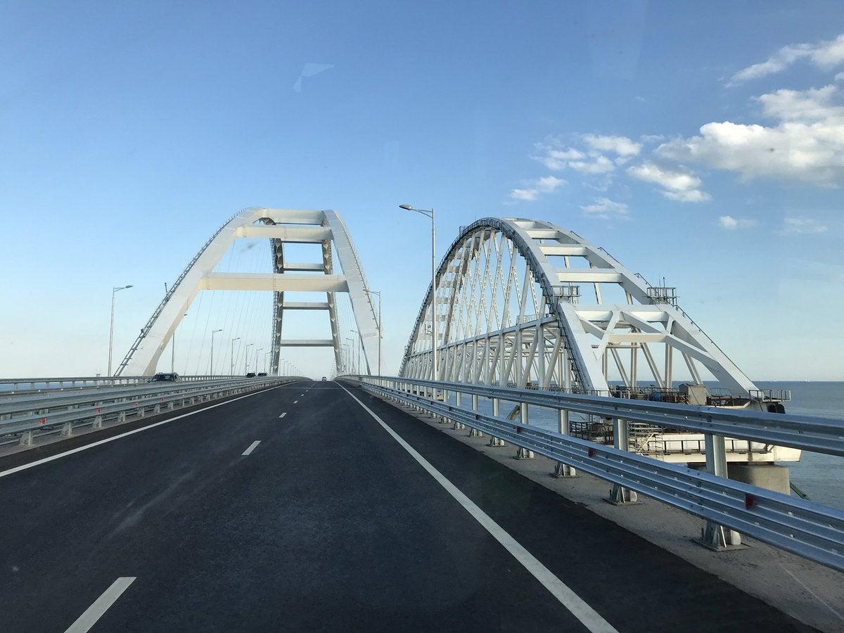 Крымский мост. Время сделает свое дело