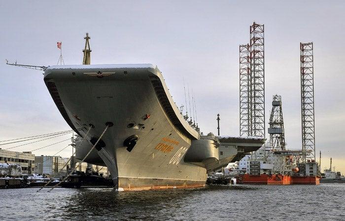 ⚡ На флоте РФ два серьезных ЧП: Загорелся авианосец «Адмирал Кузнецов» и утонула подлодка «Чита»
