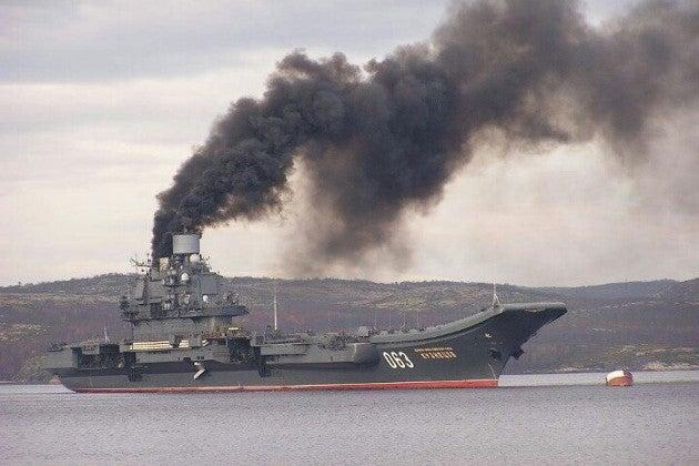 Новое оружие России. Что вскрыл пожар на авианосце Адмирал Кузнецов