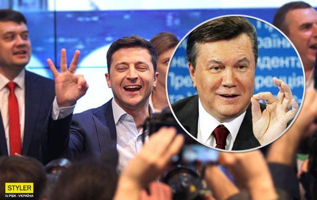 Если бы Янукович написал письмо Зеленскому...
