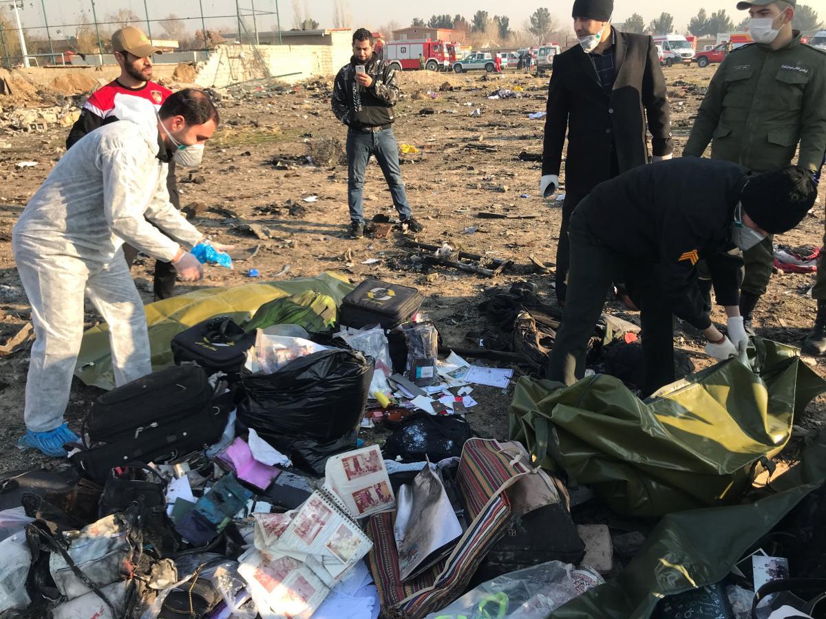 Иран отказался отдавать Boeing черные ящики разбившегося самолета МАУ