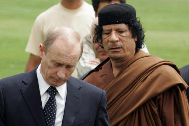 Не важно, кто будет президентом: Путин след в след идет по стопам Каддафи