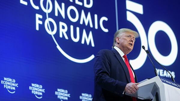 Встреча с Зеленским и «инъекция оптимизма»: что сказал Трамп на форуме в Давосе