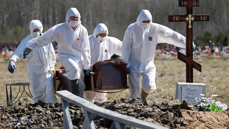 Россия скрывает данные о смертности от COVID-19: западные СМИ нашли доказательства
