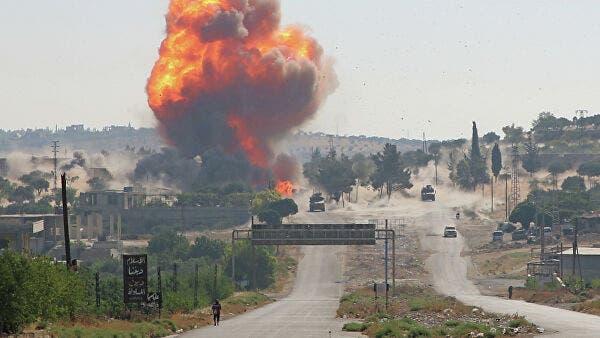 В Сирии взорвали колонну с российско-турецкими военными