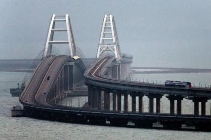 В России предупредили о надвигающейся катастрофе на Крымский мост: Провалится в огромную дыру